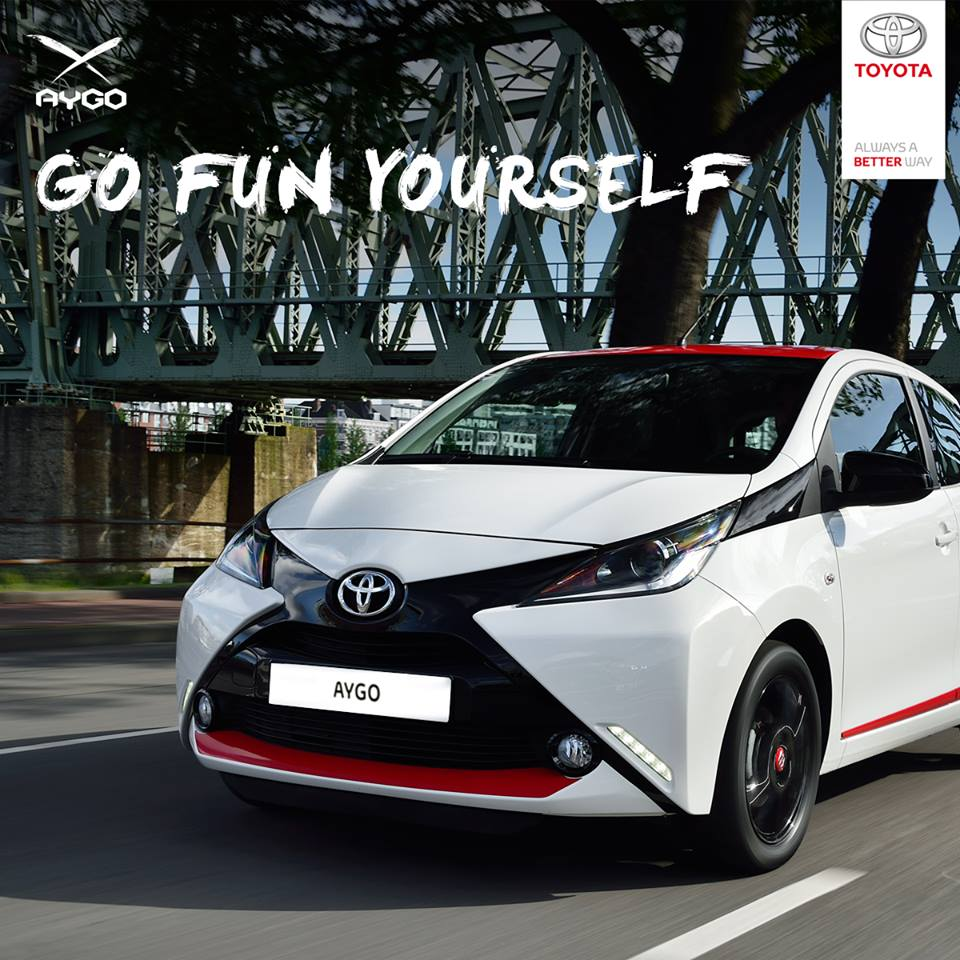 Proba 2. Toyota Aygo. Go Fun Yourself