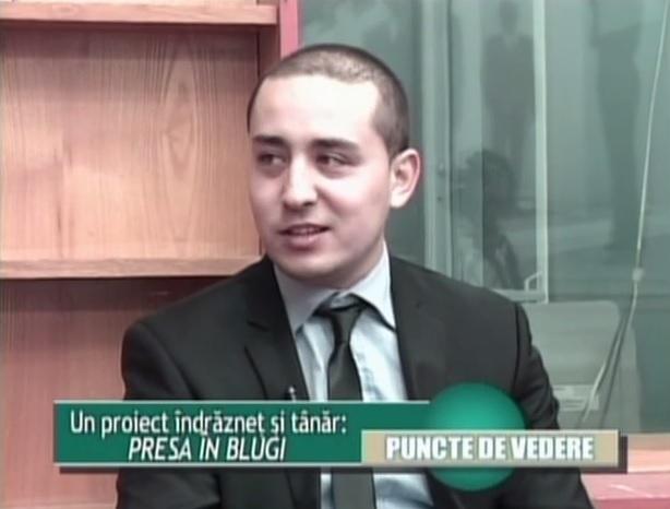 """Interviu cu Bogdan Dărădan,""""Presa în blugi"""": """"SuperBlog a fost rampa mea de lansare"""""""