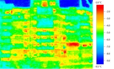 Bloc nereabilitat – termografie