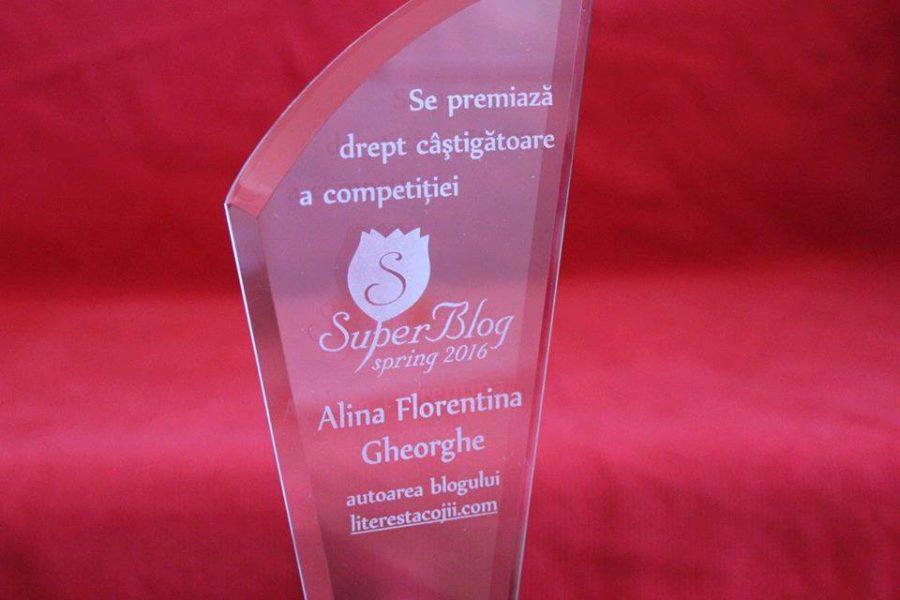 Interviu cu Alina Gheorghe: Cum se câștigă trofeul SuperBlog