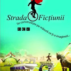 Banner vertical Strada Fictiunii