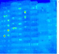 Bloc reabilitat - termografie
